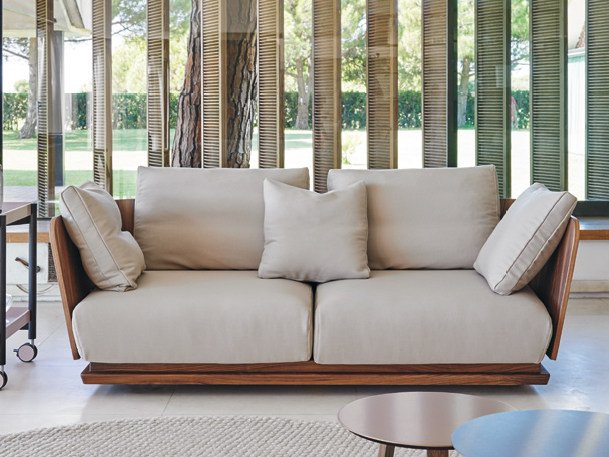 2 seater fabric sofa A. CORTESE | 2 seater sofa by Punt