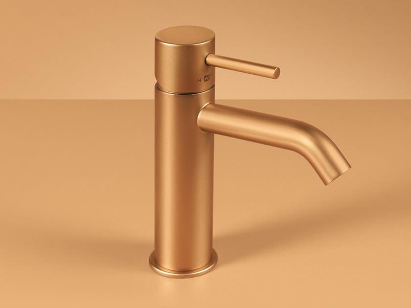 Countertop single handle washbasin mixer CLEO 84 - 8411210_2 by Fir Italia