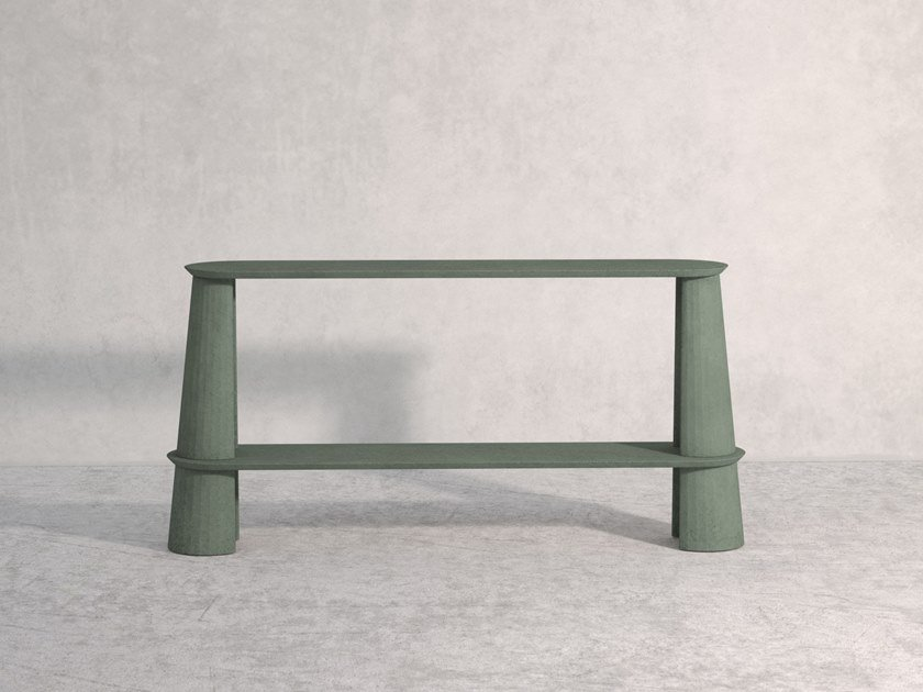 Cement console table FUSTO | Console table by Forma&Cemento