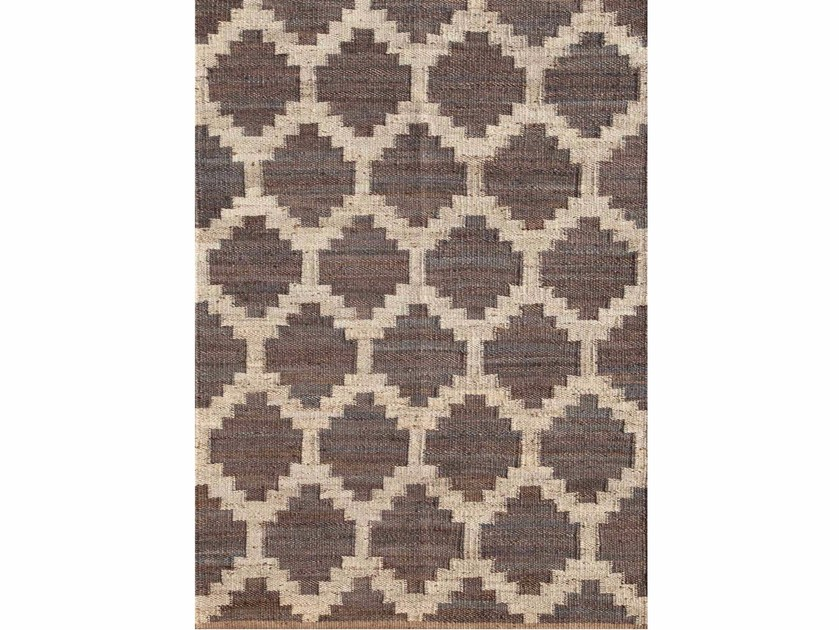 Hemp rug SOUK PX-2124 Medium gray by Jaipur Rugs