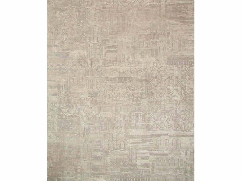 Handmade rug PACHCHAI QM-716 Crystal Gray/Shale by Jaipur Rugs
