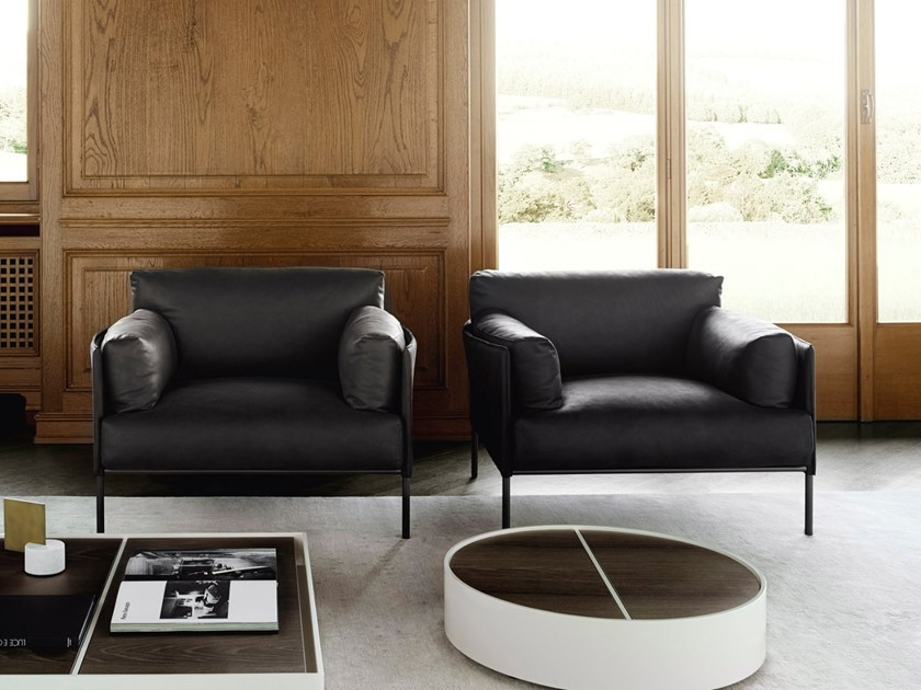 Armchair with armrests GREENE | Armchair by Living Divani