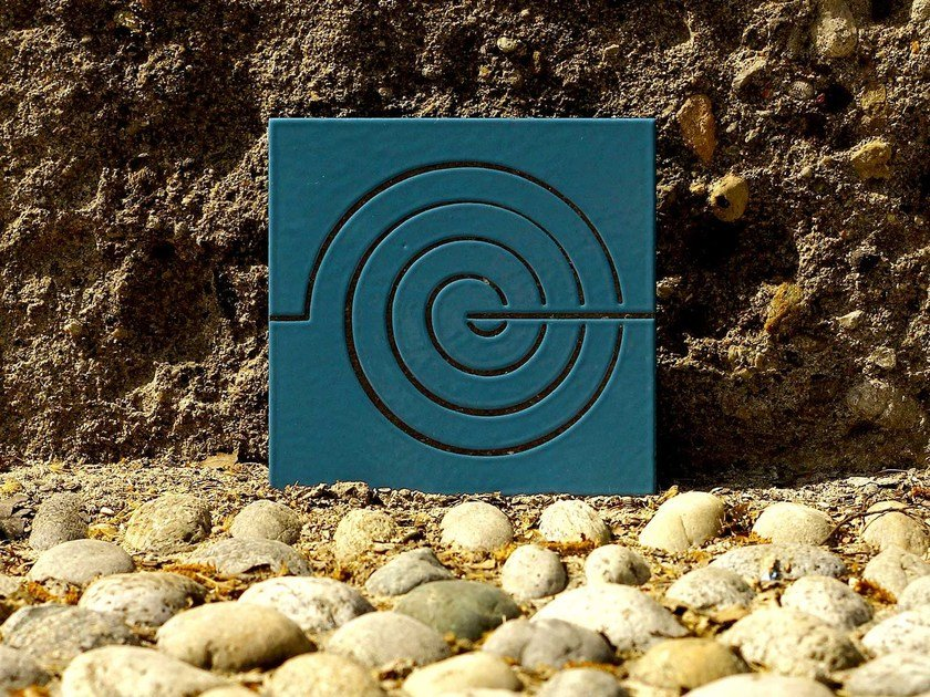 Lava stone wall tiles EOLO by Made a Mano