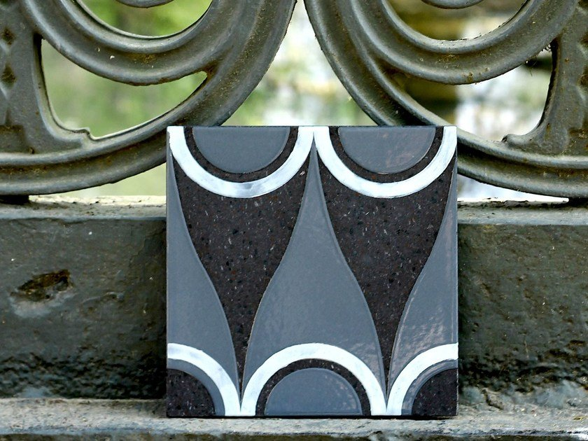 Lava stone wall tiles SIRENE by Made a Mano