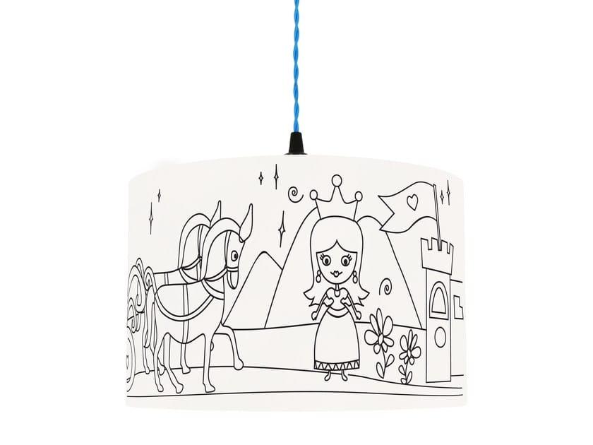 Lampshade for children PRINCESS KINGDOM by Mullan Lighting