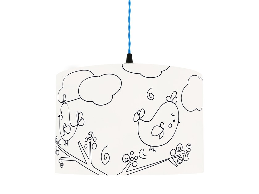 Lampshade for children HAPPY BIRDS by Mullan Lighting