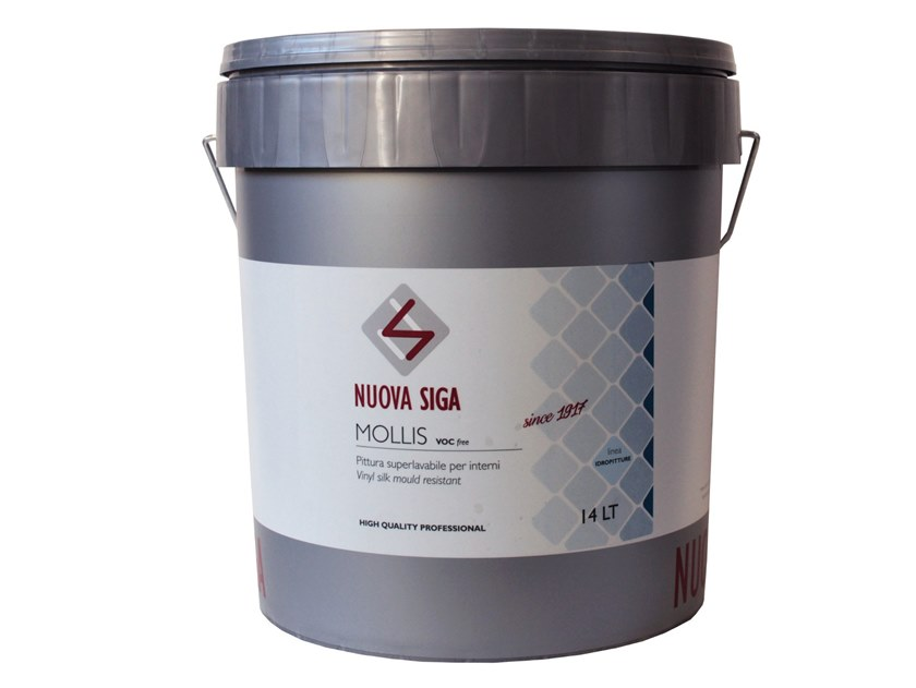 Washable water-based paint / Breathable water-based paint MOLLIS by Nuova Siga