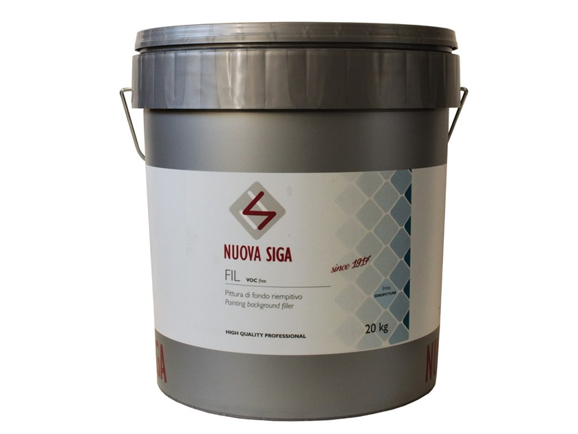 Breathable water-based paint FIL by NUOVA SIGA