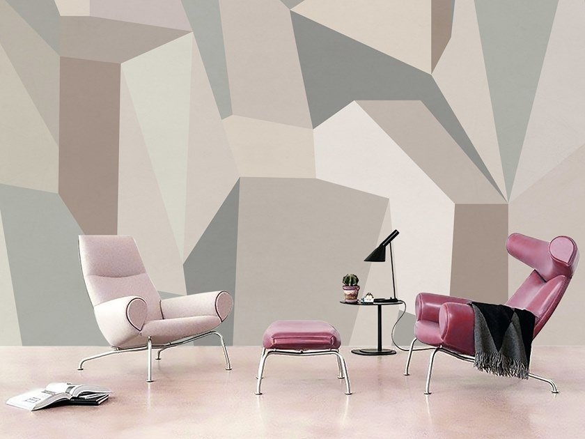 Wall tiles / wallpaper GEOMETRIA CUBISTA by Officinarkitettura®