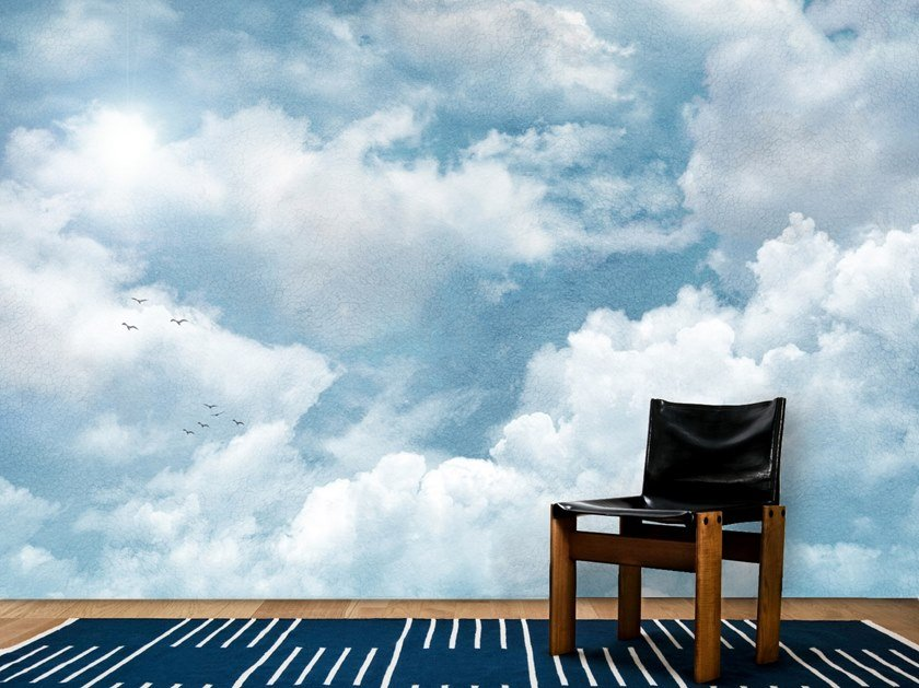 Wall tiles / wallpaper PAINTING CLOUDS by Officinarkitettura®