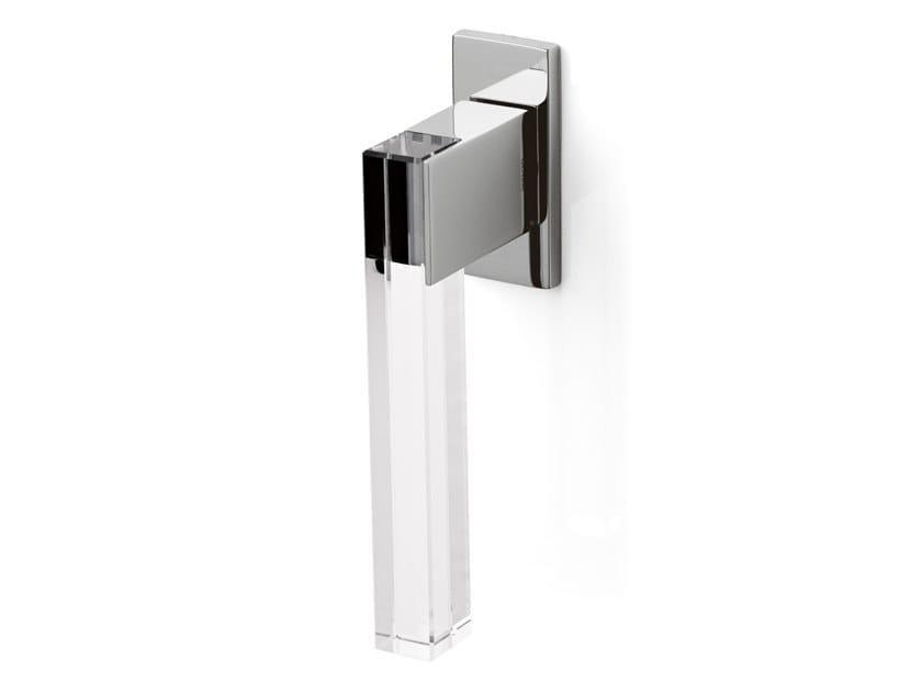 Brass and crystal window handle ICE CUBE | Window handle by OLIVARI