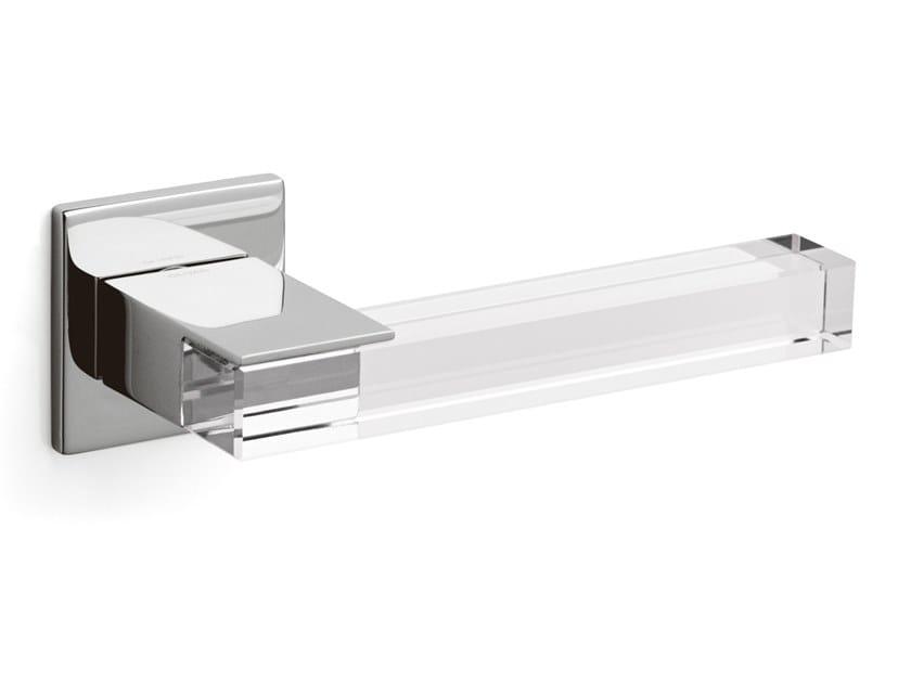 Brass door handle ICE CUBE | Door handle by OLIVARI