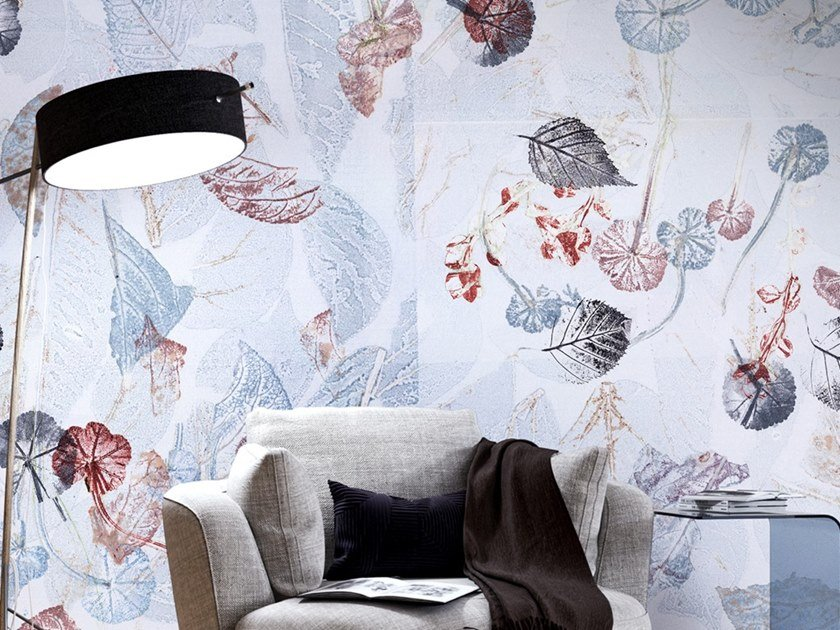 Ecological washable PVC free wallpaper A PIEDI NUDI by Wallpepper