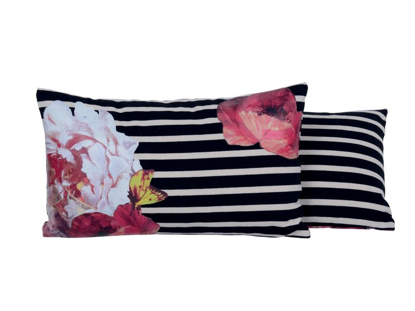 Rectangular cotton cushion A PROPOS by LELIEVRE