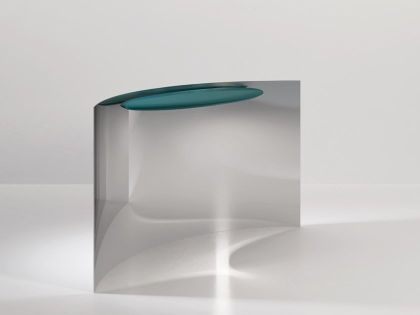 Metal console table TANGENT by Secolo