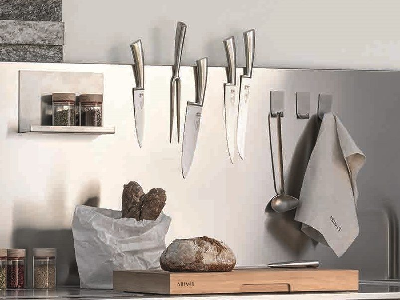 Metal utensil holder A_TTACCO by ABIMIS