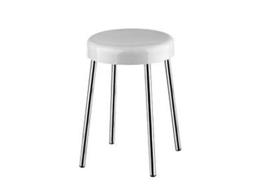 Resin bathroom stool A0375A | Bathroom stool by INDA®