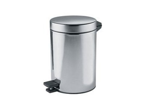 Metal bathroom waste bin A04023 | Bathroom waste bin by INDA®