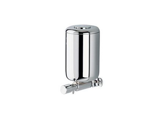 Wall-mounted metal Soap dispenser A05670-71 | Soap dispenser by INDA®