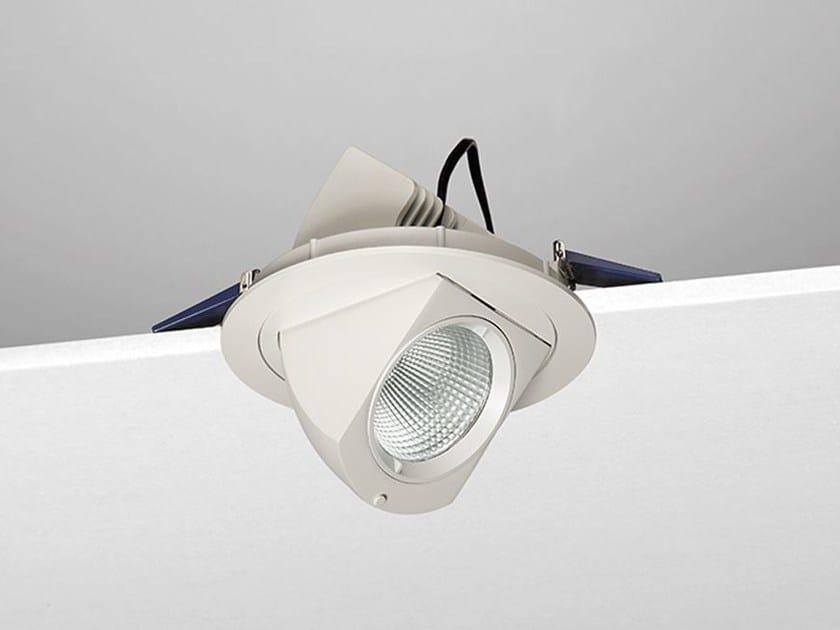 LED adjustable aluminium spotlight A20 by NOBILE ITALIA