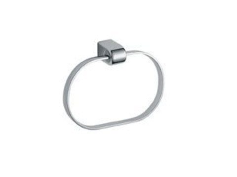 Chromed brass towel ring EUROPE | Towel ring by INDA®