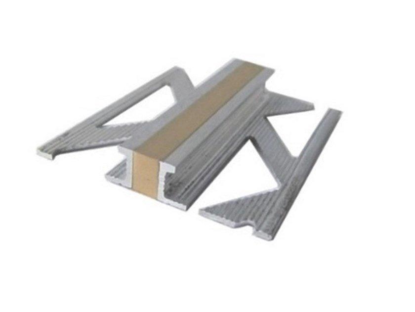 Metal and PVC contraction joint A8 ALL A8 ST   Flooring joint by CPR GIUNTI