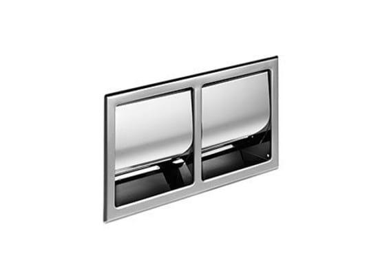 Portarotolo per hotel in metallo A8029D | Portarotolo per hotel by INDA®
