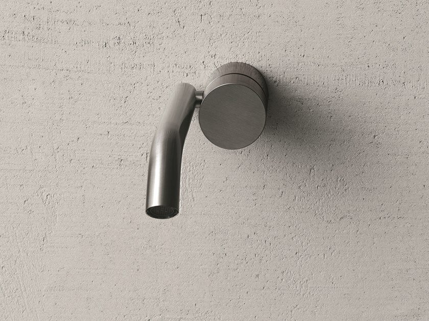 Wall-mounted stainless steel washbasin tap AA/27 | Washbasin tap by ABOUTWATER
