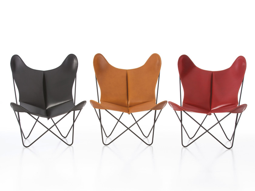 Leather armchair AA LEATHER | Leather armchair by AIRBORNE