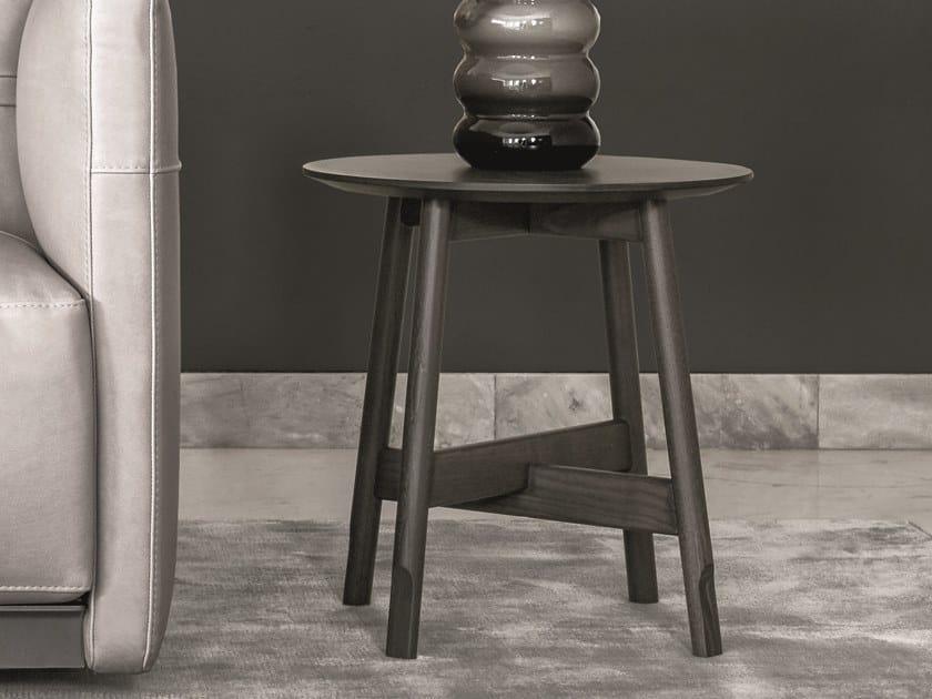 Tavolino rotondo in legno in stile moderno AANY | Tavolino rotondo by Ditre Italia