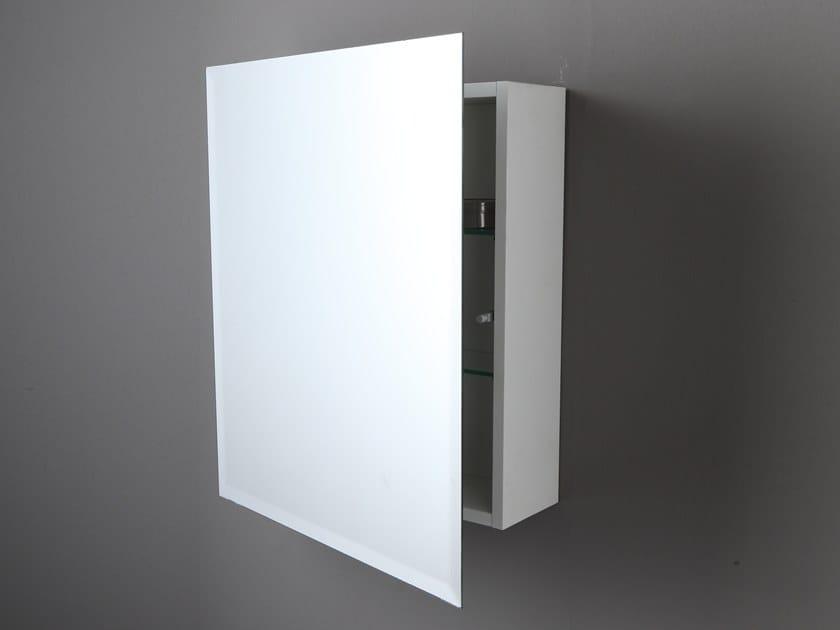 Specchio rettangolare da parete con contenitore AB232 | Specchio con ...