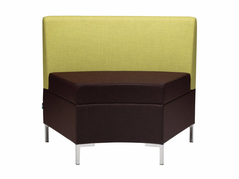 Sectional fabric armchair ABACO 759 by Metalmobil