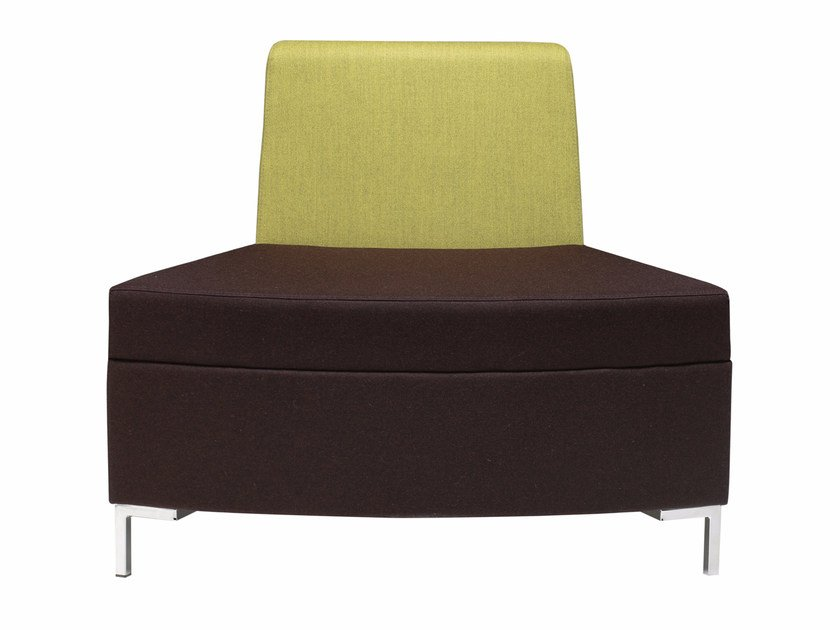 Sectional fabric armchair Abaco 760 by Metalmobil