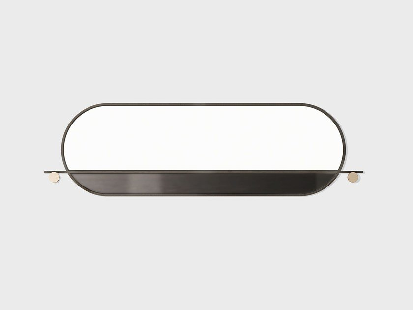 Oval mirror ABAL   Oval mirror by Matter Made
