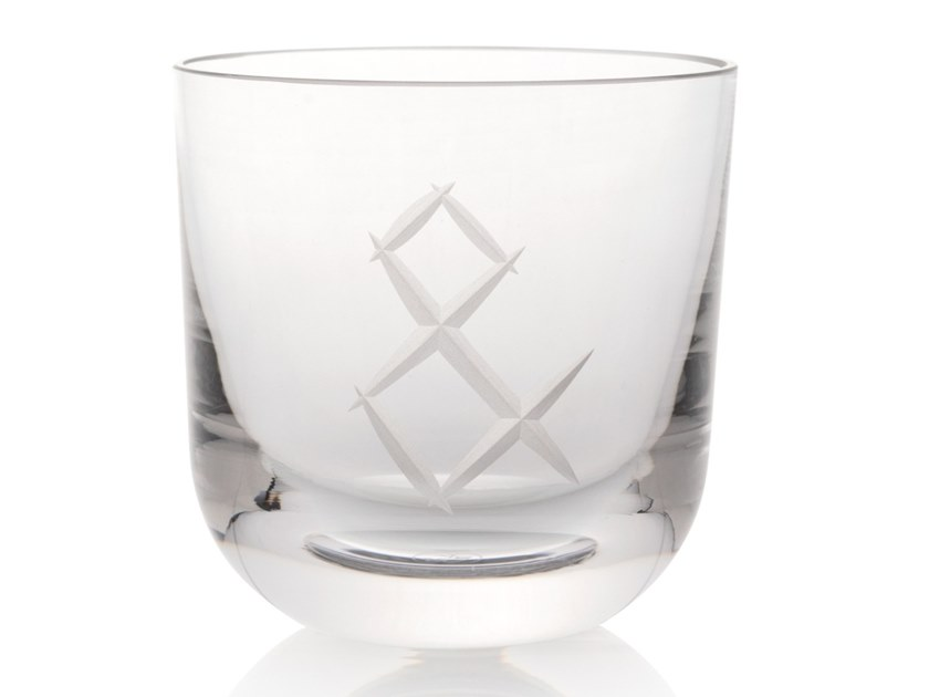 Water crystal glass ABC & by Rückl