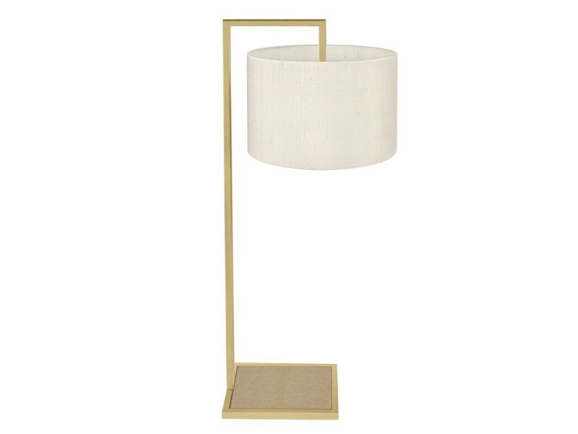 Direct light brass table lamp with fixed arm ABERDEEN by FRATO