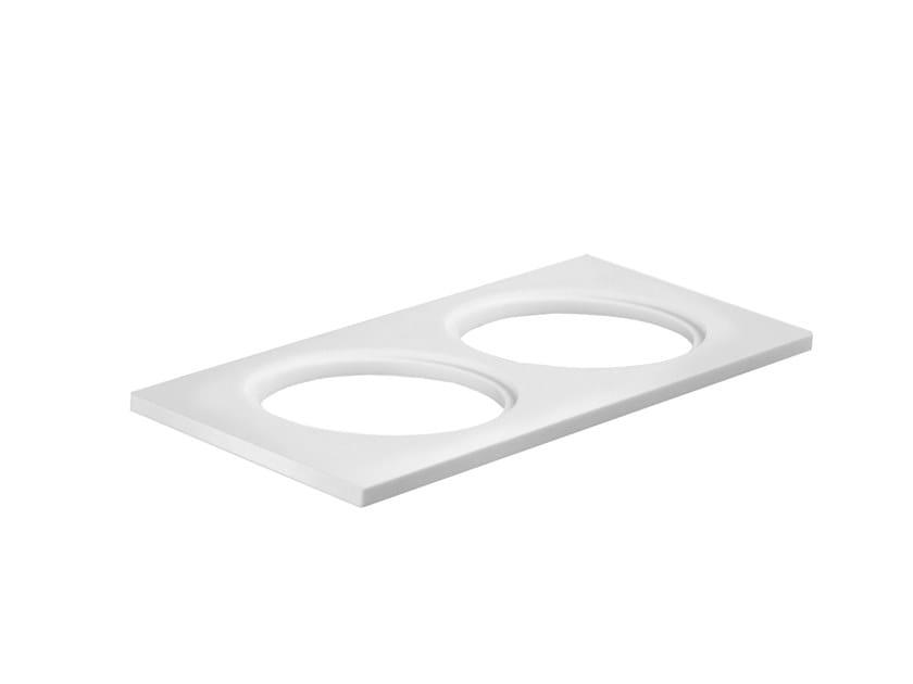 Mensola bagno in Corian® ABIN03B | Mensola bagno Fir Italia
