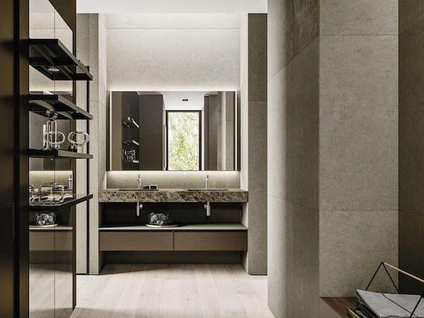 Bathroom furniture set ABSOLUTE 03 by Arbi Arredobagno