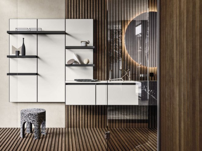 Bathroom furniture set ABSOLUTE 12 by Arbi Arredobagno