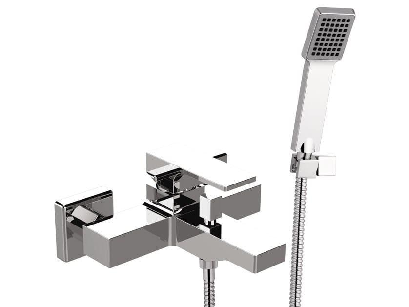 Miscelatore per vasca a muro con doccetta ABSOLUTE | Miscelatore per vasca con doccetta by Remer Rubinetterie