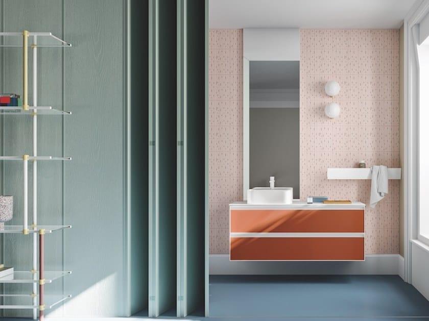 Bathroom furniture set ABSOLUTE 07 by Arbi Arredobagno