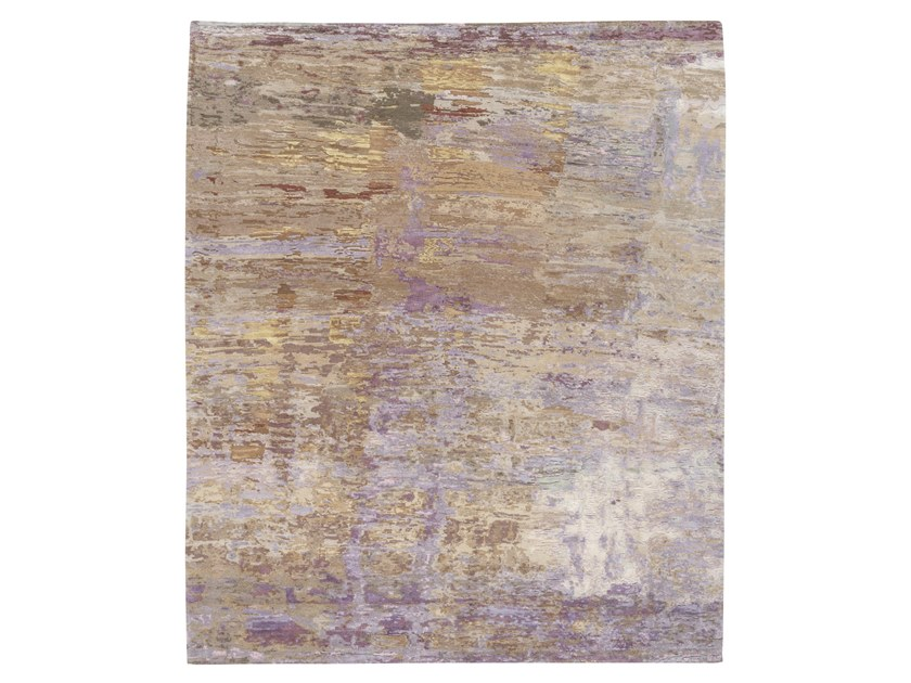Handmade custom rug ABSTRACT 7 OP2 MULTI by Thibault Van Renne