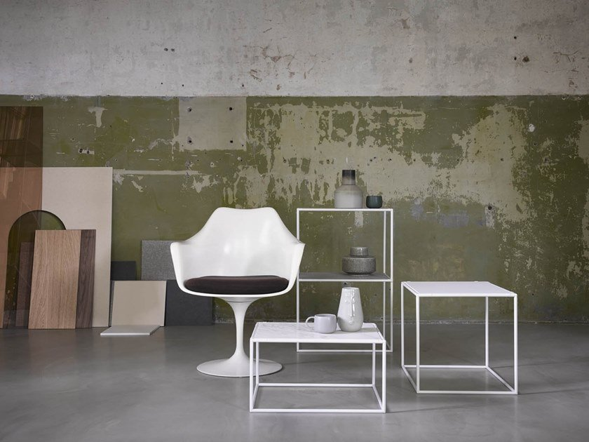 Square metal coffee table ABSTRACTA SYSTEM® | Coffee table by De Machinekamer