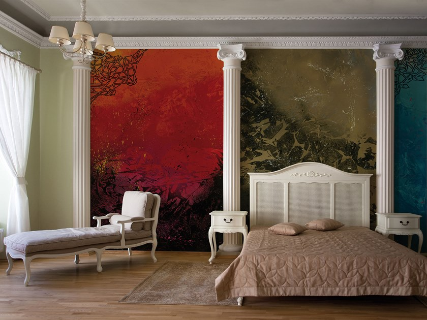 Resin Decorative panel ABVA STREET ART by Tecnografica Italian Wallcoverings