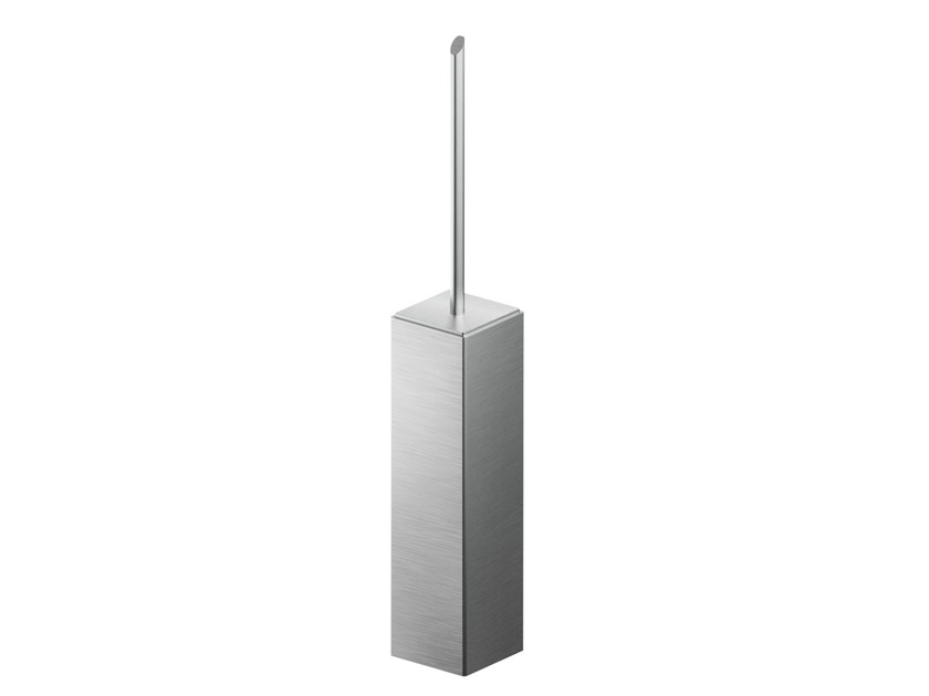 Wall-mounted stainless steel toilet brush AC912   Wall-mounted toilet brush by MGS