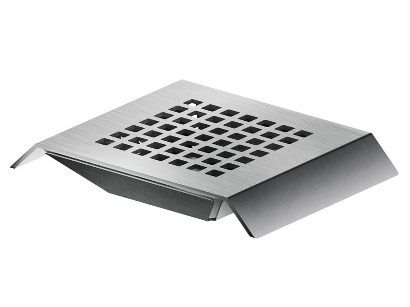 Countertop stainless steel soap dish AC961 | Soap dish by MGS