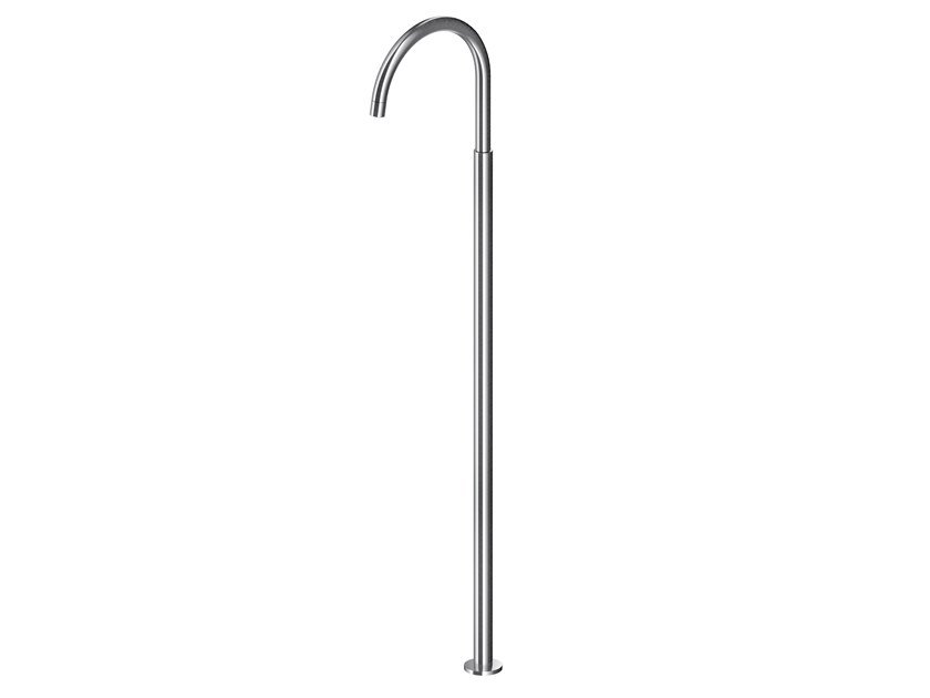 Floor standing stainless steel spout AC980 / AC981 / AC982 | Spout by MGS