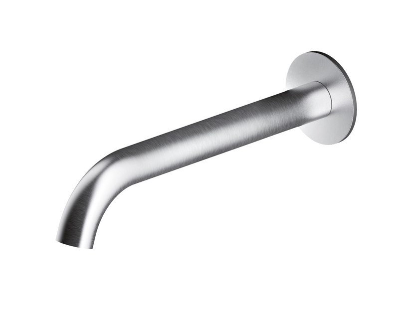 Wall-mounted stainless steel spout AC986 | Spout by MGS
