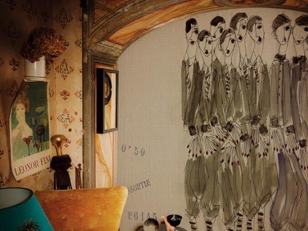 Ecological fire retardant wallpaper ACADÉMIE ROYALE by Wall&decò
