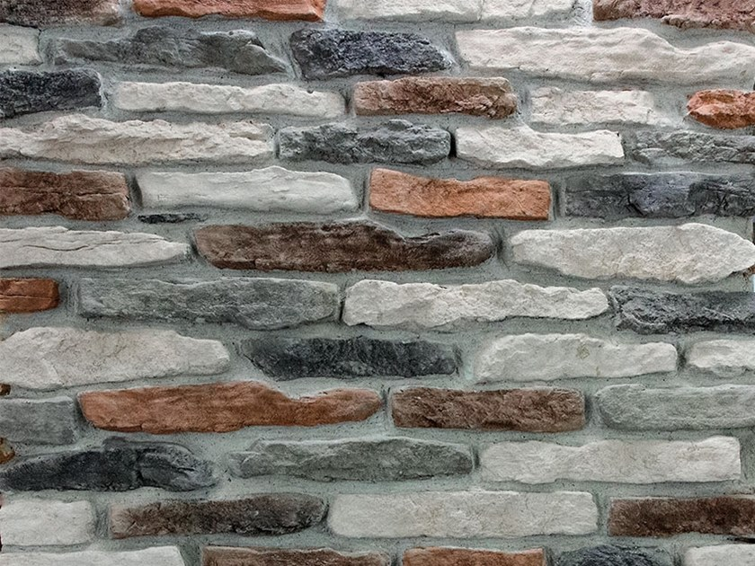 Reconstructed stone wall tiles ACERENTHIA by Decor